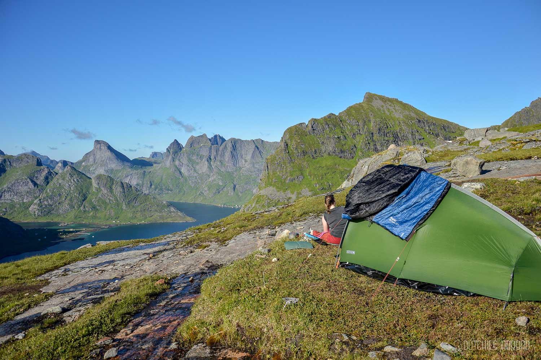 Fotoblog Lofoten - wildkamperen