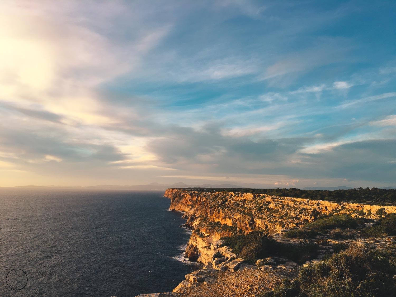 highlights van Mallorca: prachtige zonsondergang