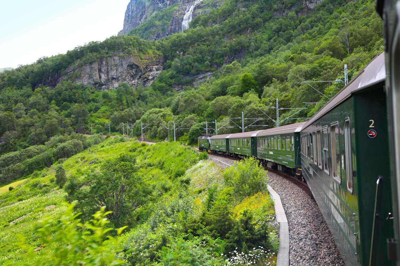 Treinreizen door Noorwegen en Zweden