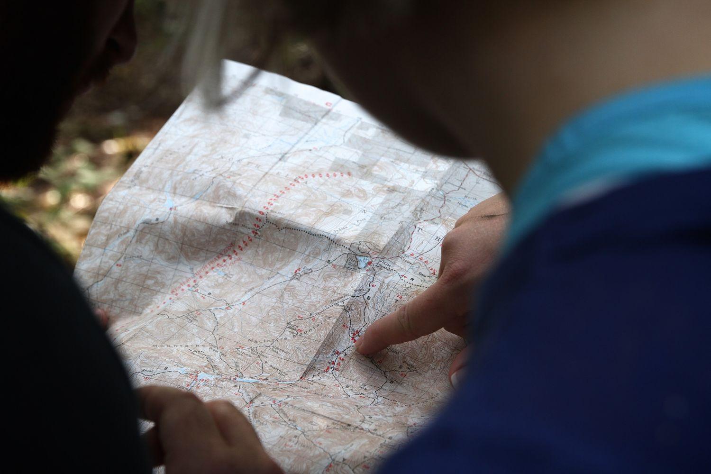 Kaartlezen en navigeren