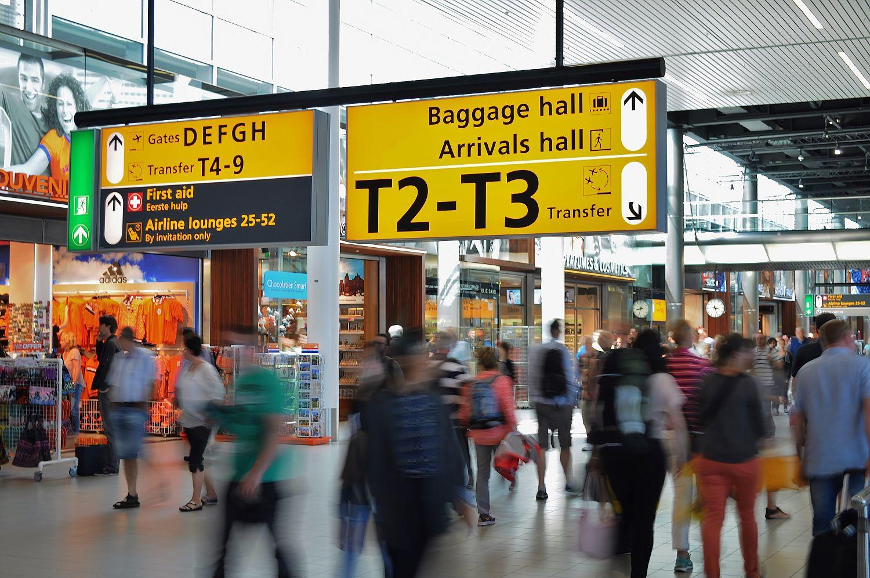 WiFi wachtwoorden van vliegvelden