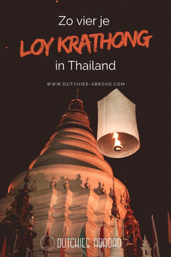 Loy Krathong het Thaise festival van het water