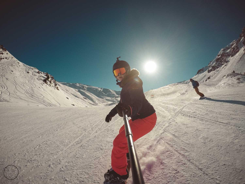Snowboarden in Portes du Soleil