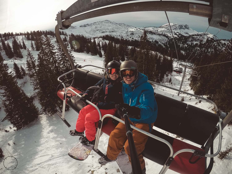 Wintersporten in Frankrijk
