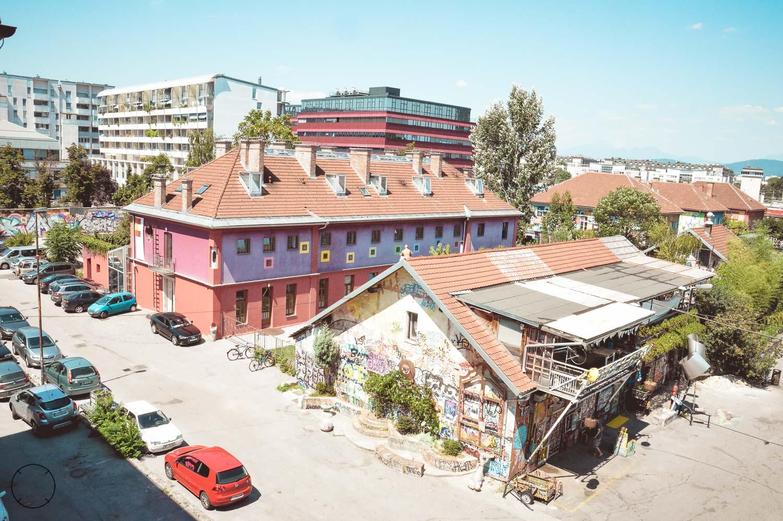 Hostel Celica en Metelkova