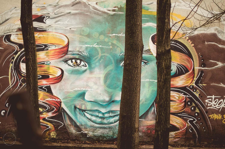 Indrukwekkende streetart bij ROG