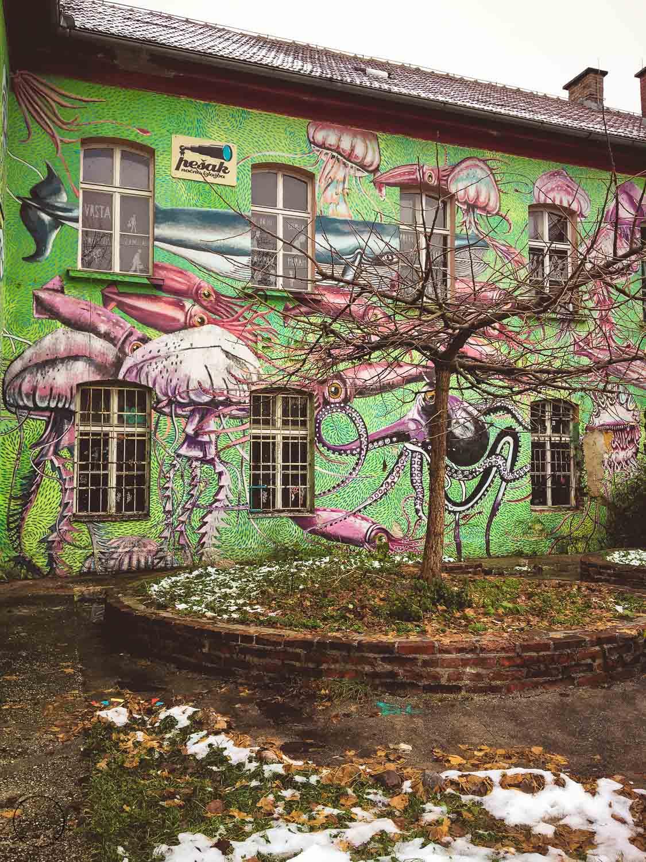 Streetart in Metelkova