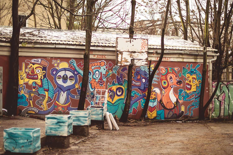 Streetart in alternatief Ljubljana