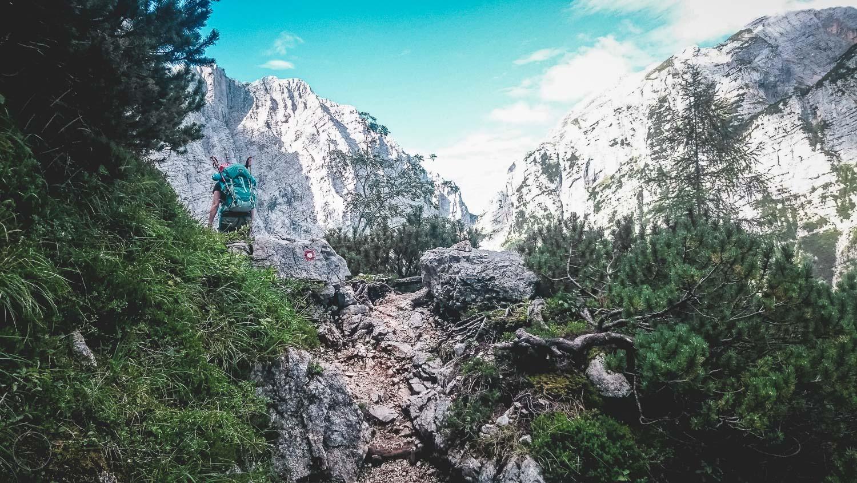 Bergwandelen - op het pad blijven