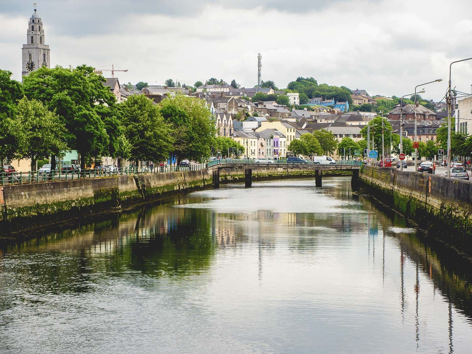 De rivier Lee in Cork