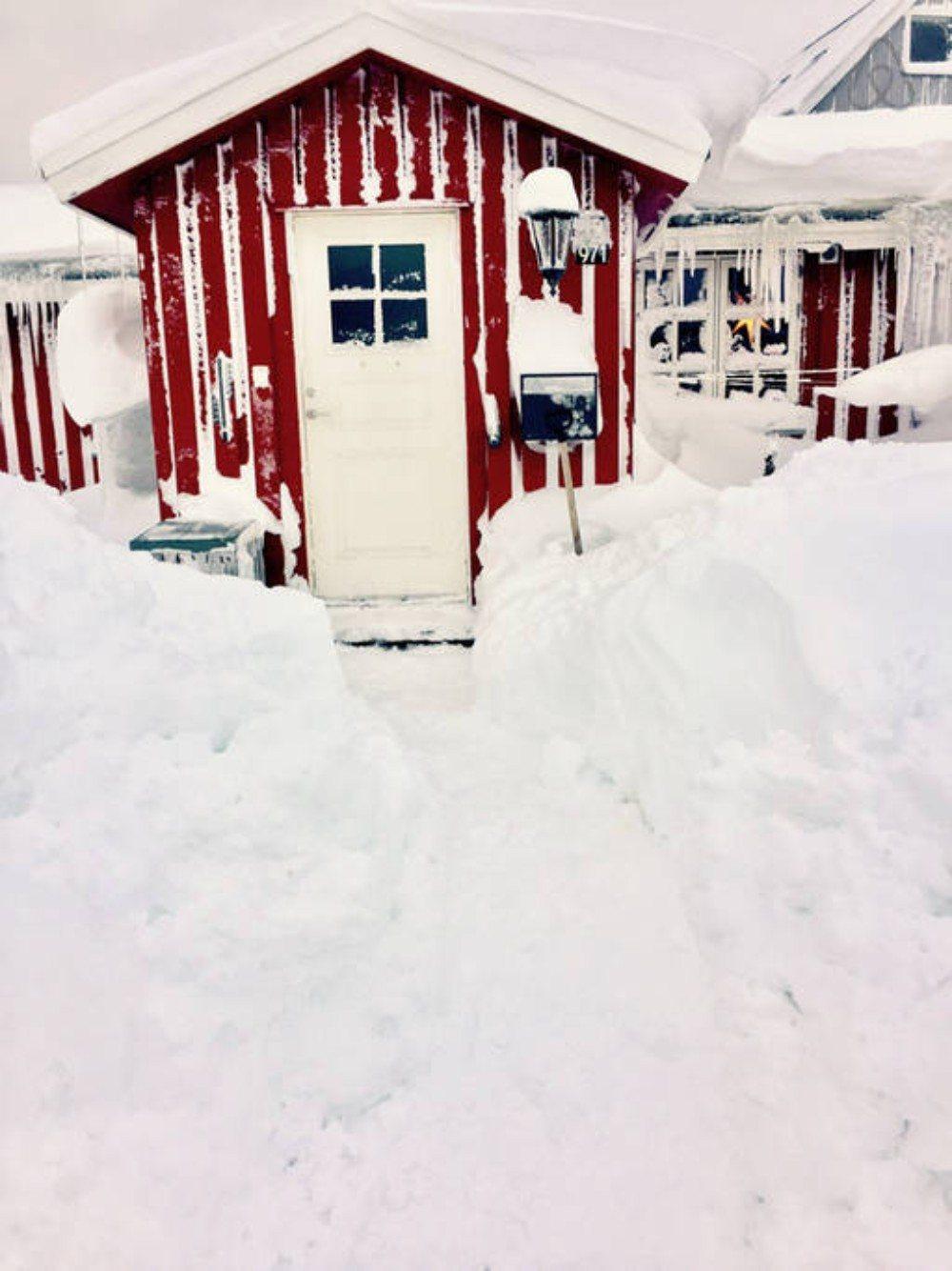 Goedkope airbnb hotspots - Huisje in Groenland