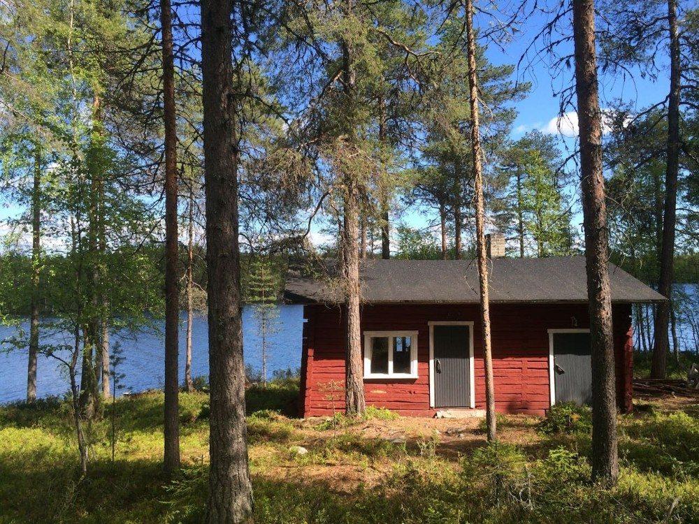 Goedkope airbnb hotspots - Zweeds hutje met sauna