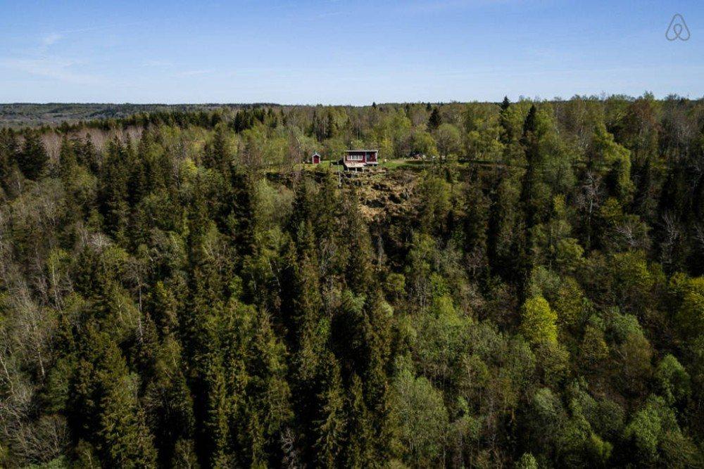 Goedkope airbnb hotspots - huisje in Zweden