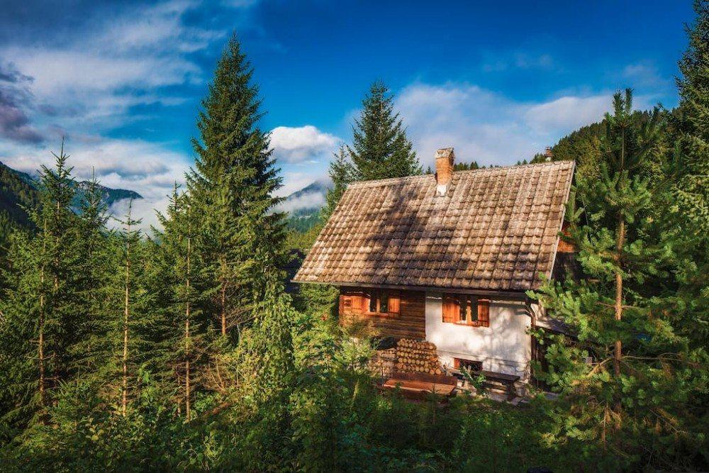 Goedkope airbnb hotspots - hutje Slovenië