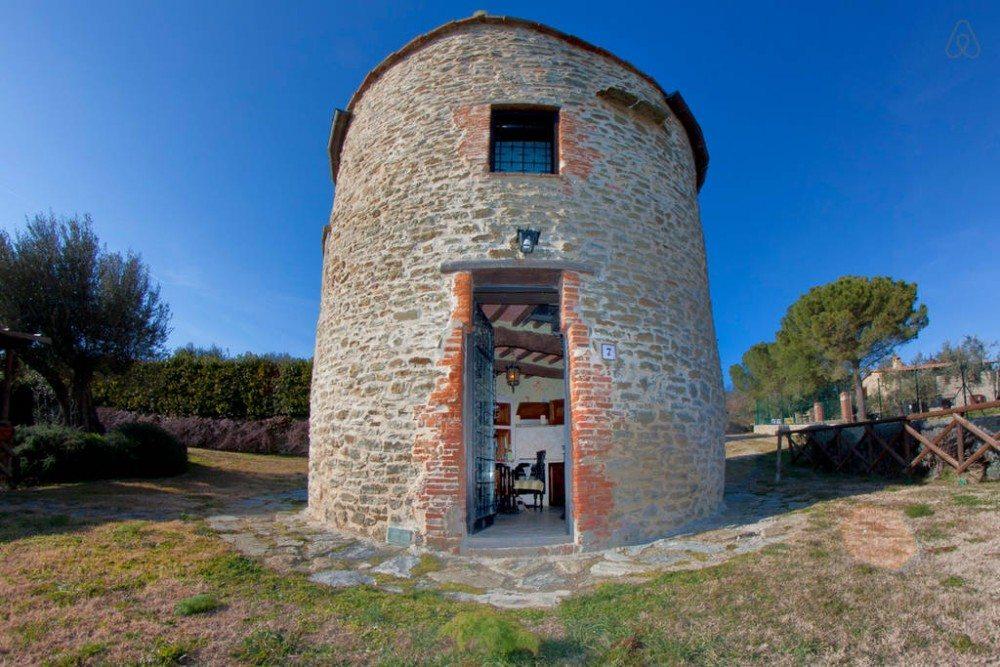 Goedkope airbnb hotspots - je eigen kasteeltoren in Umbrië