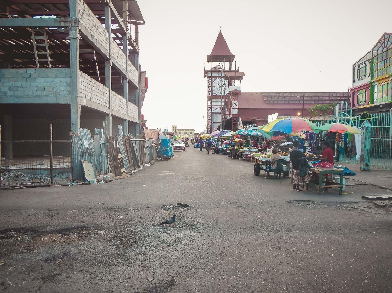 Guyana - lokale markt