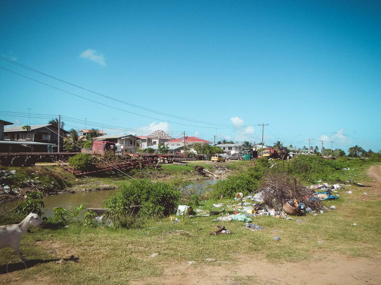 Guyana - straatbeeld