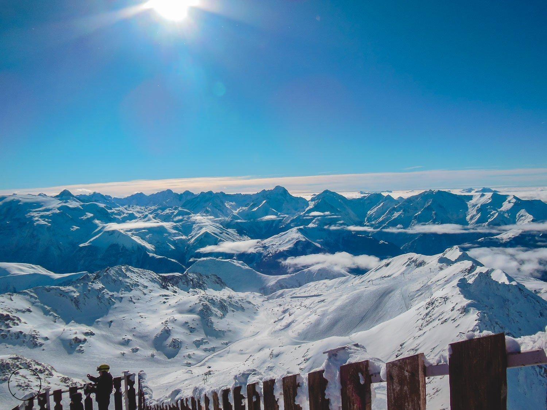 Bovenop de Pic Blanc in Frankrijk