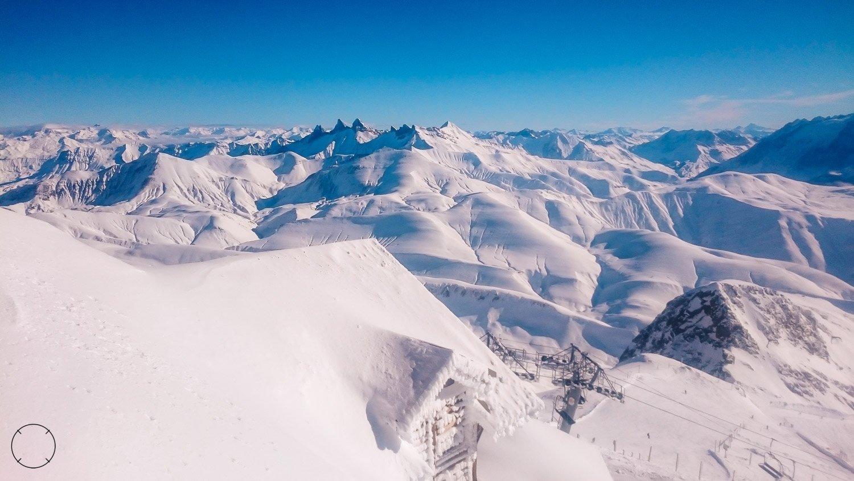 Dutchies Abroad bovenop de Pic Blanc
