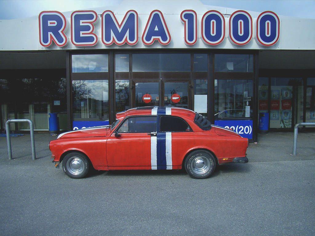 Low budget door Noorwegen - Rema 1000