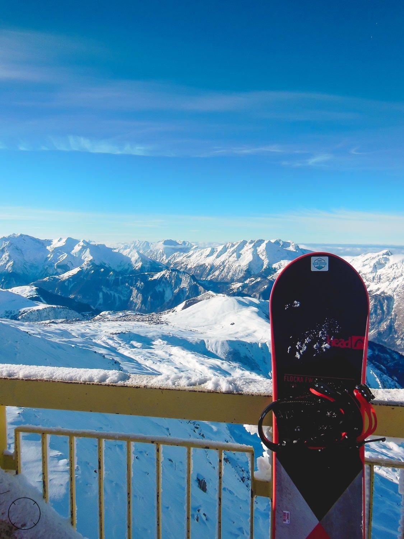 Voor het eerst snowboarden in skigebied Alpe d'Huez