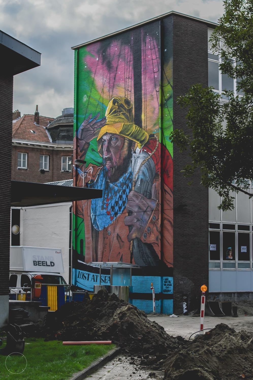 Loop de streetart route in Gent