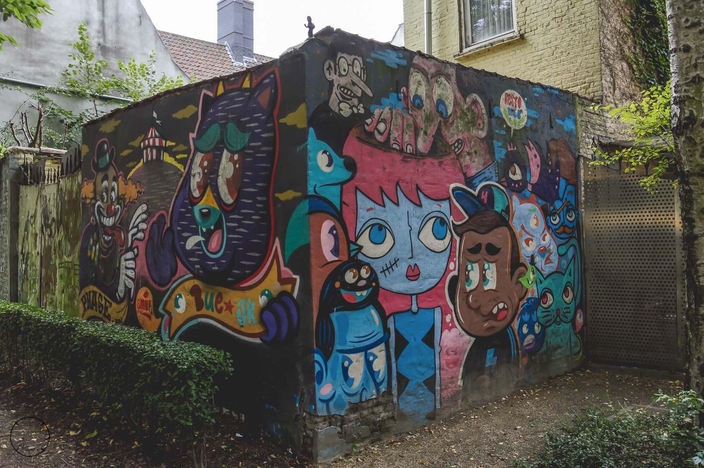 Ontdek de streetart in Gent