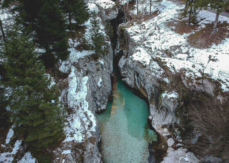 Wintervakantie in Slovenië - Soča-vallei