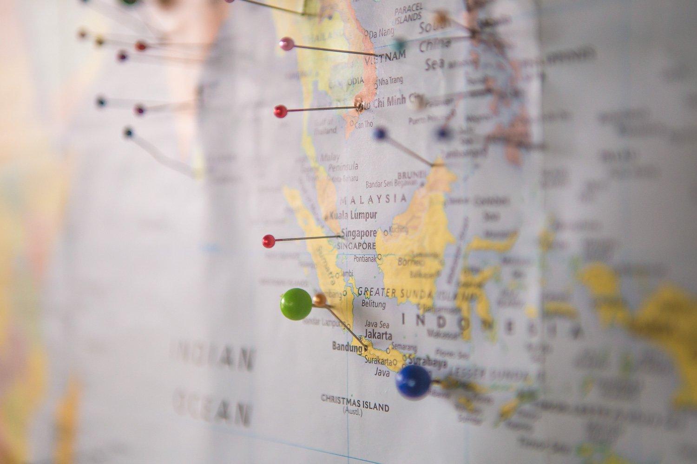 wereldkaart musthave voor reizigers