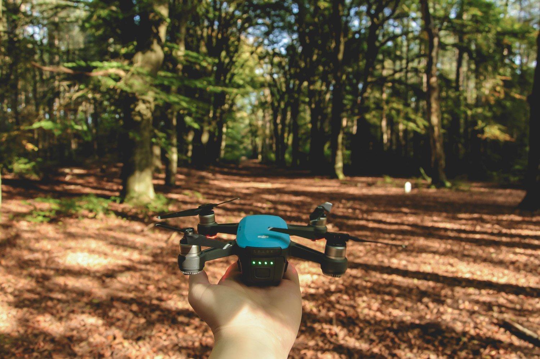 Drone mee op reis