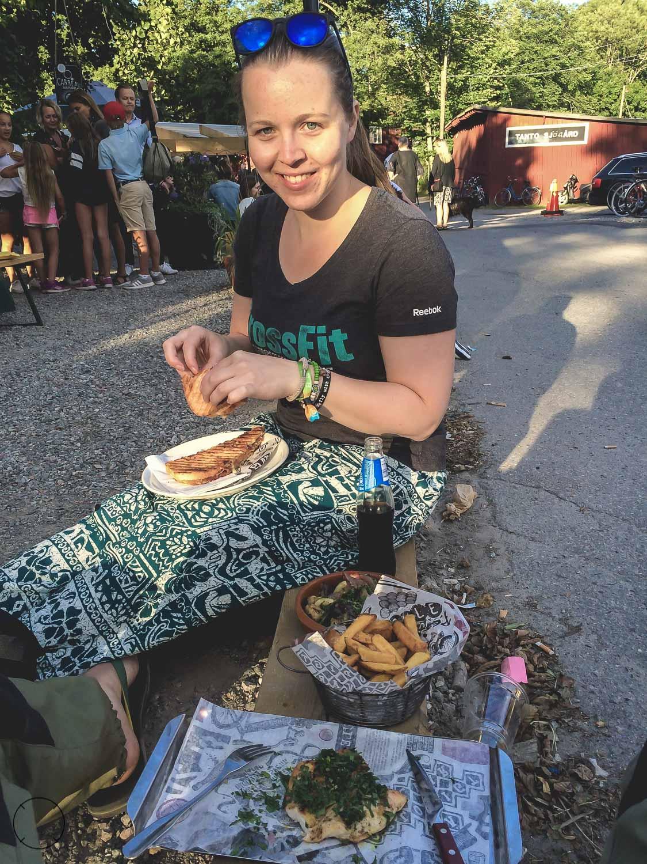 Eten bij Boulebar Tanto in Stockholm