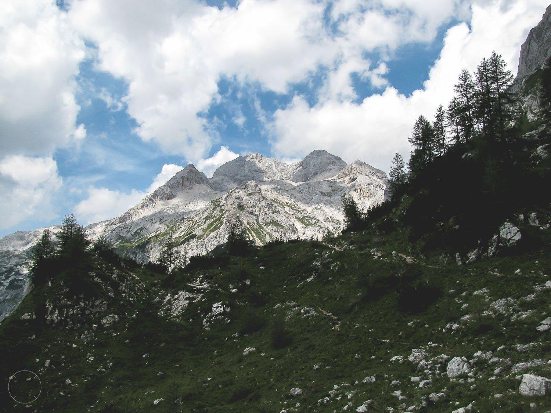 De hoogste berg van Slovenië Triglav