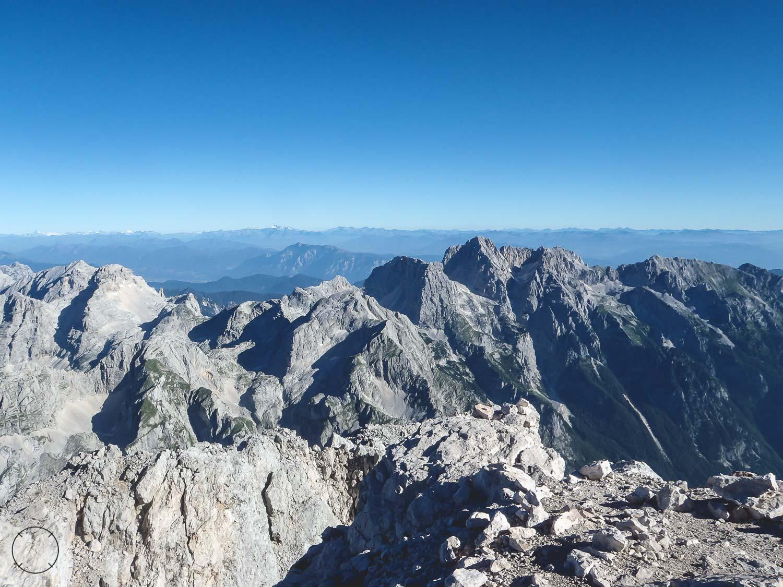 Het uitzicht vanaf de top