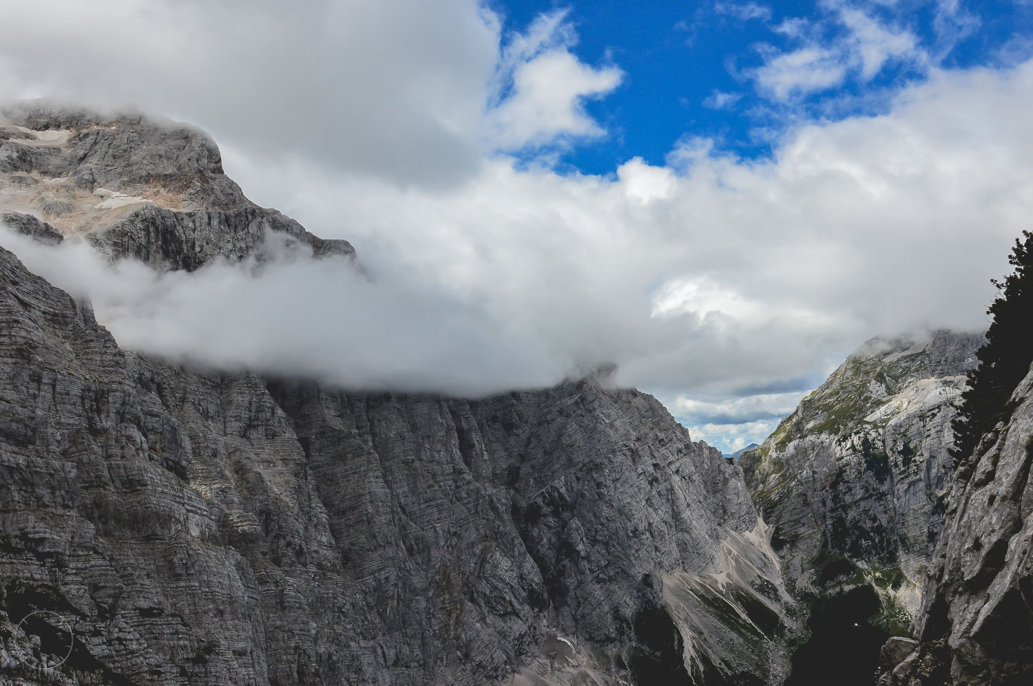 Hiken in Triglav National park in Slovenië