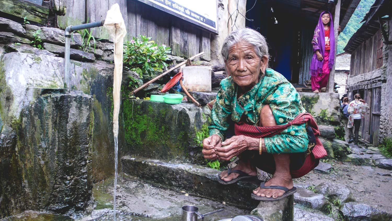 Verantwoord reizen - lokale bevolking Nepal