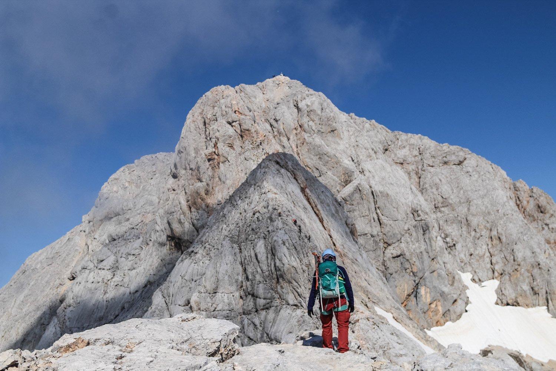 De prachtige uitzichten onderweg naar de top van de Triglav