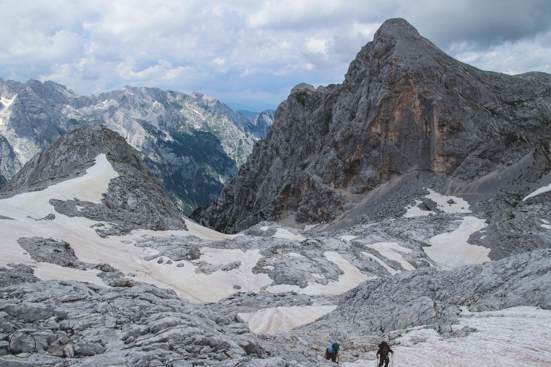 Gletsjer Triglav National Park