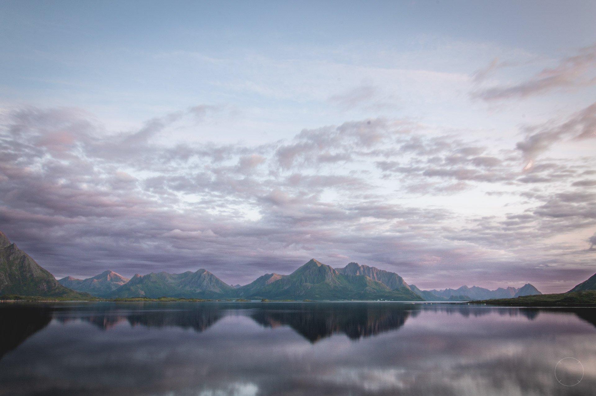 De magische zonsondergangen op de Vesterålen