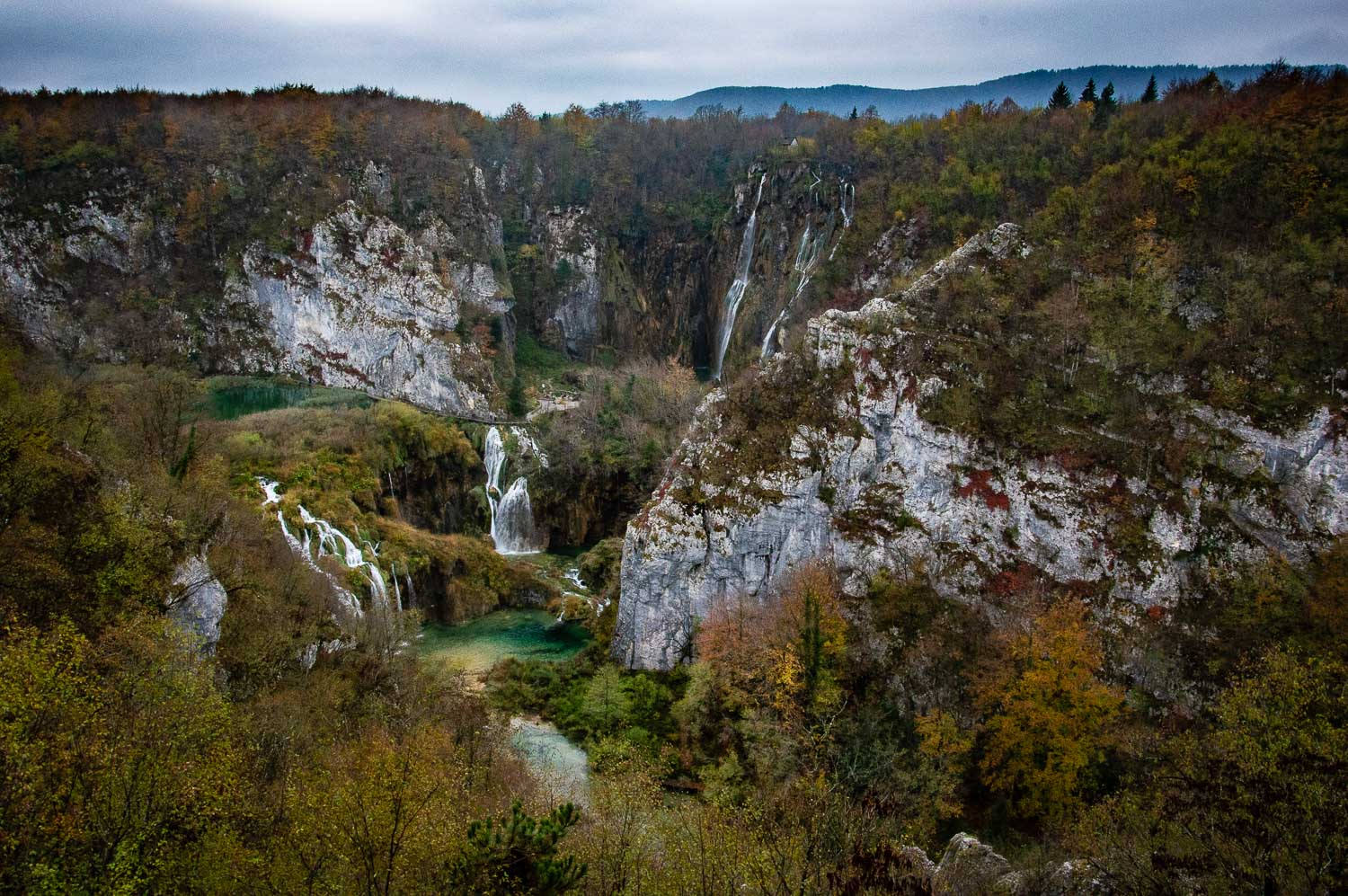 National park Plitvice Jezero