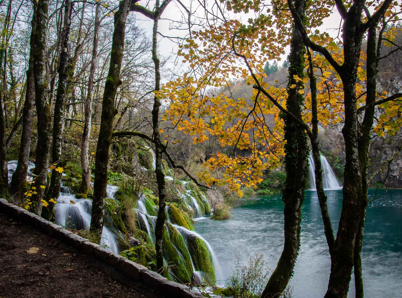 Plitvice National park in de herfst
