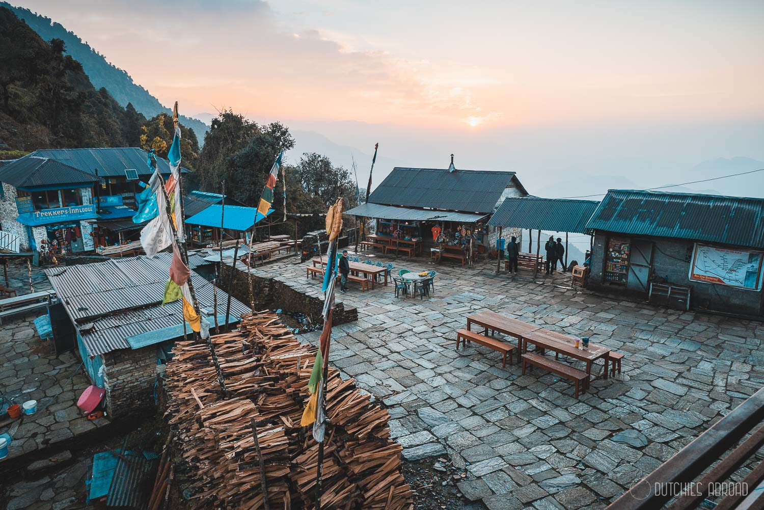 A great place to stay during the Mardi Himal trek