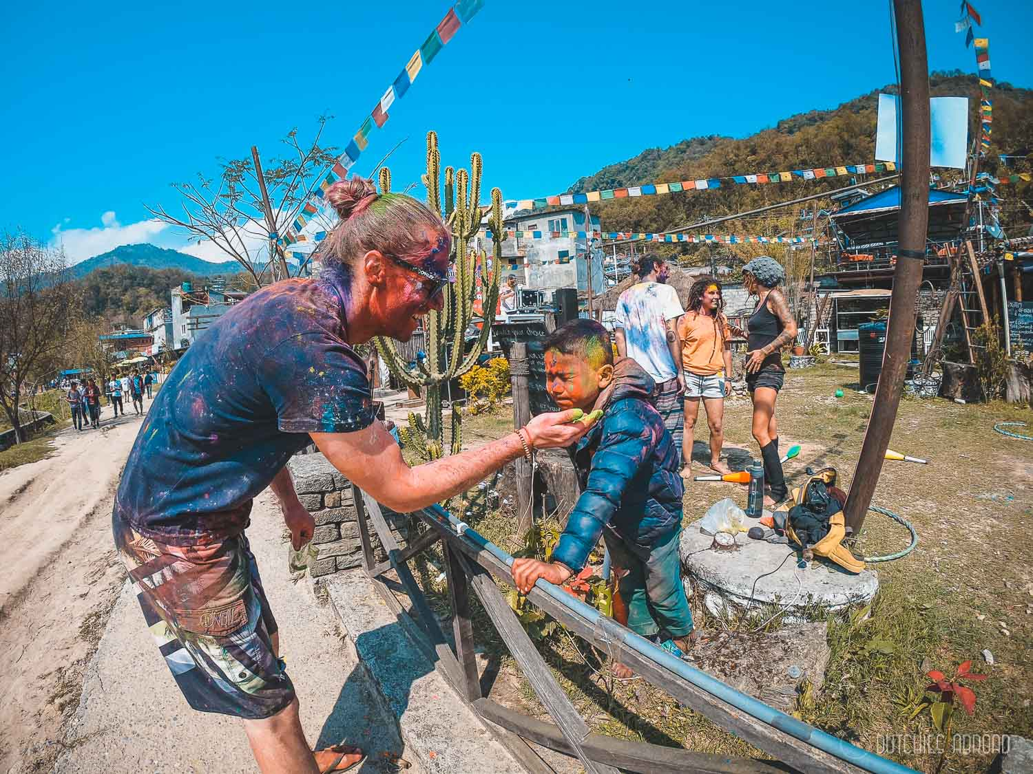 Celebrate Holi in Pokhara