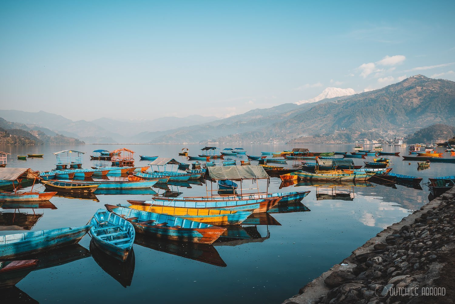 What to do in Pokhara - lakeside