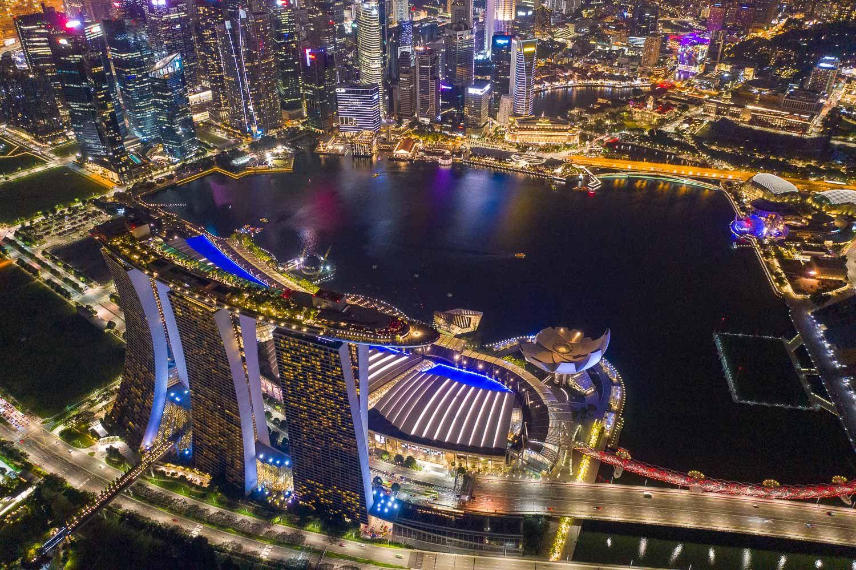 Singapore sky Dutchies Abroad
