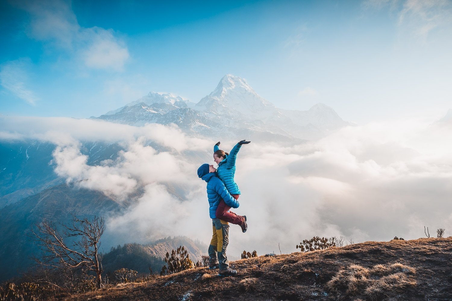 Getting back to the mountains in Nepal
