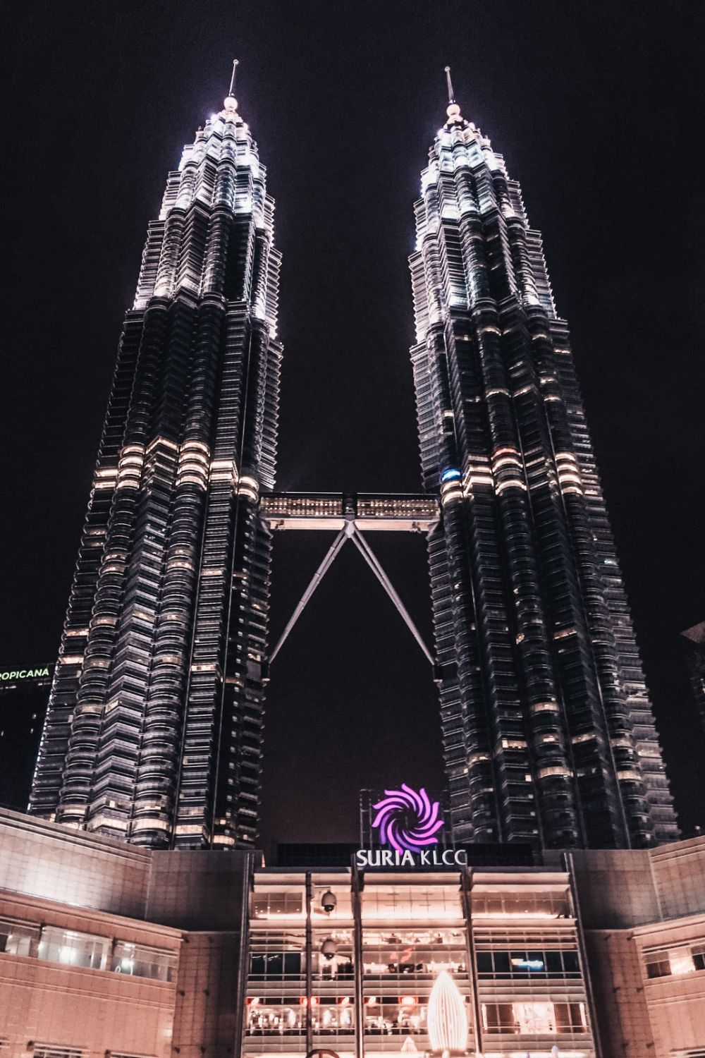 Petronas Towers at night