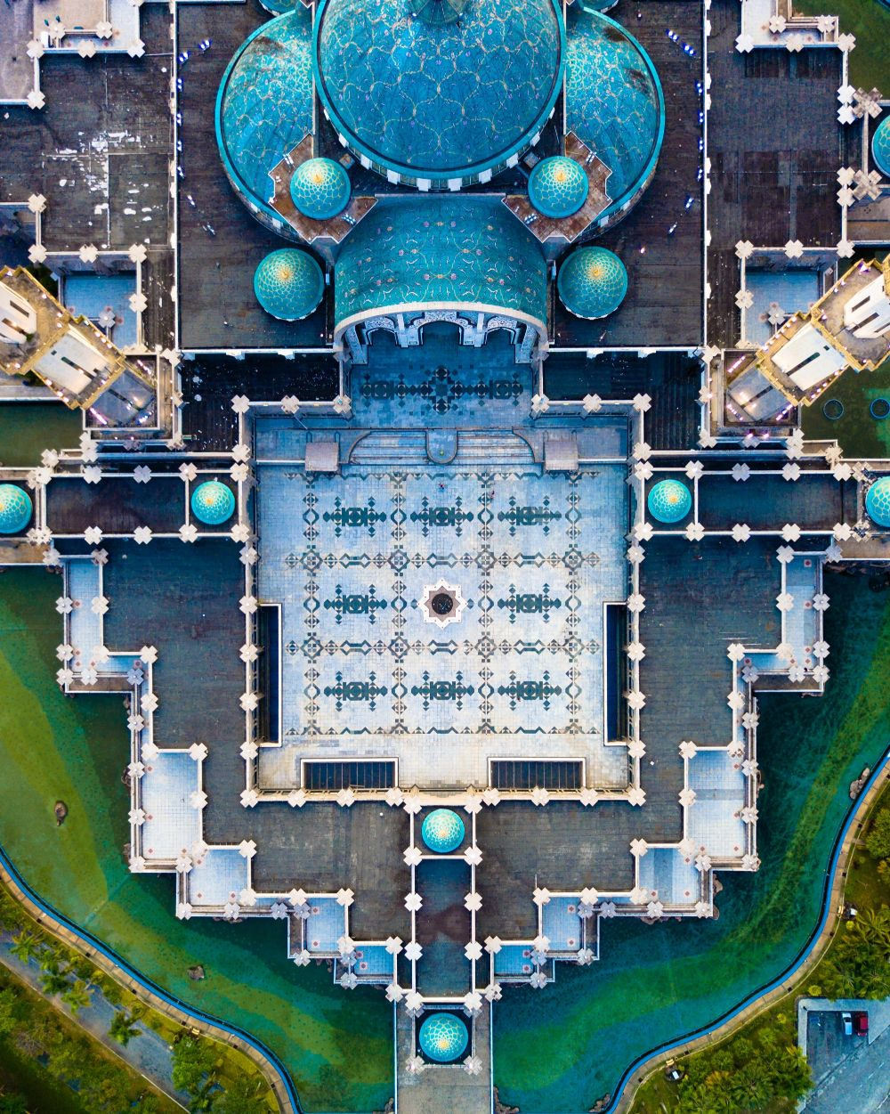 Wilayah Mosque from above
