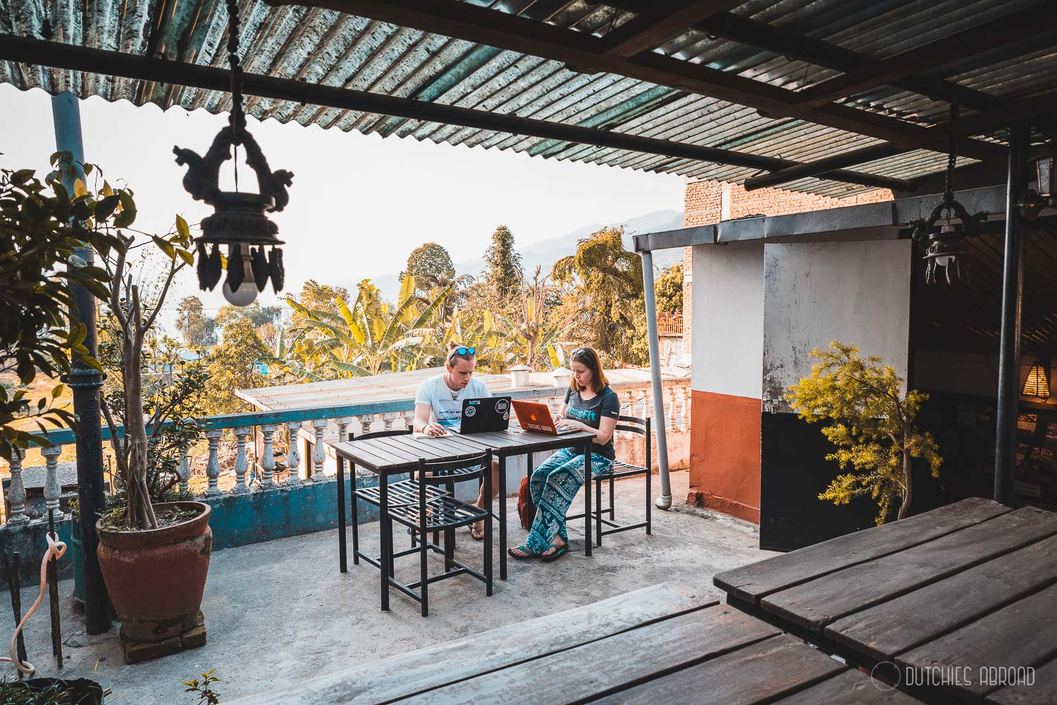 Working as a digital nomad in Pokhara