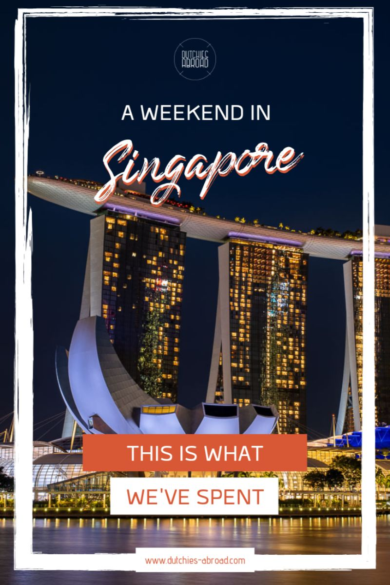 A weekend in Singapore - this is what we've spent