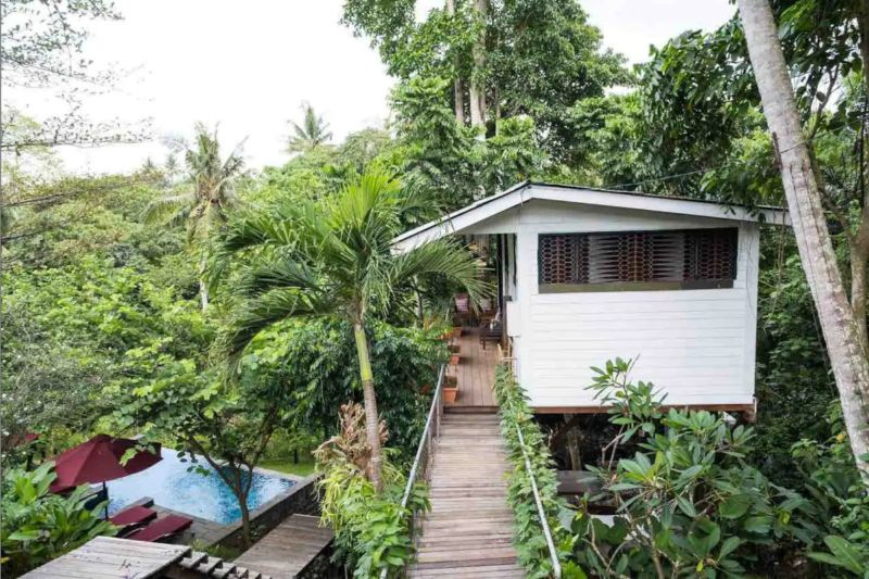 Airbnb home in the Balinese jungle